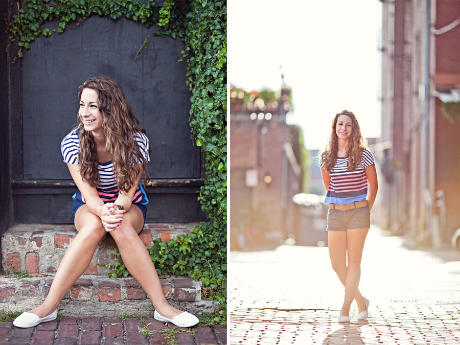 Omaha Old Market senior photography