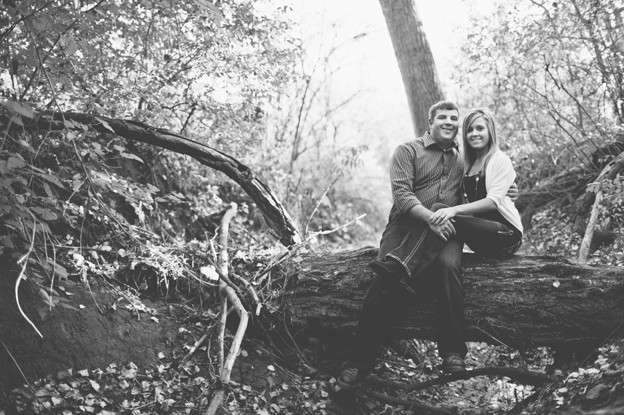 rural omaha engagement photography