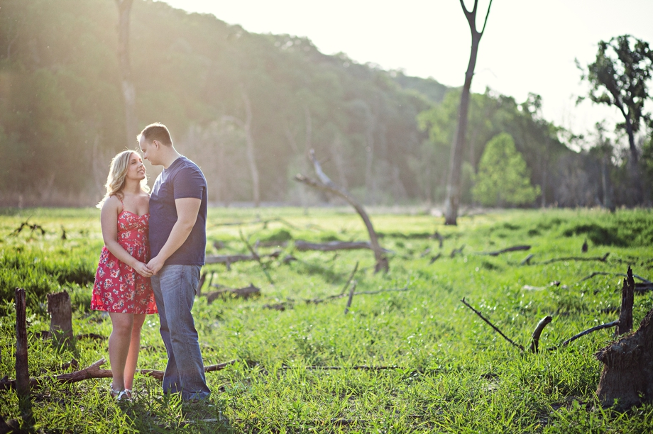 Fontenelle Forest Engagement Photography