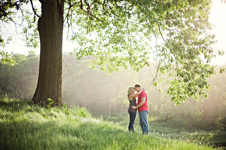 Amazing Engagement Photos in Omaha Nebraska