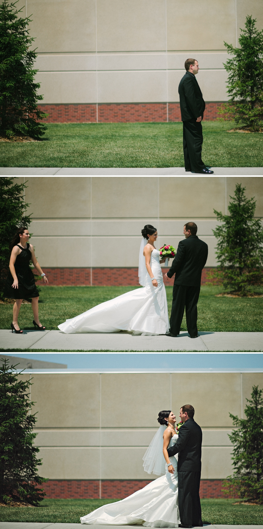 Omaha Wedding Photography - First Look