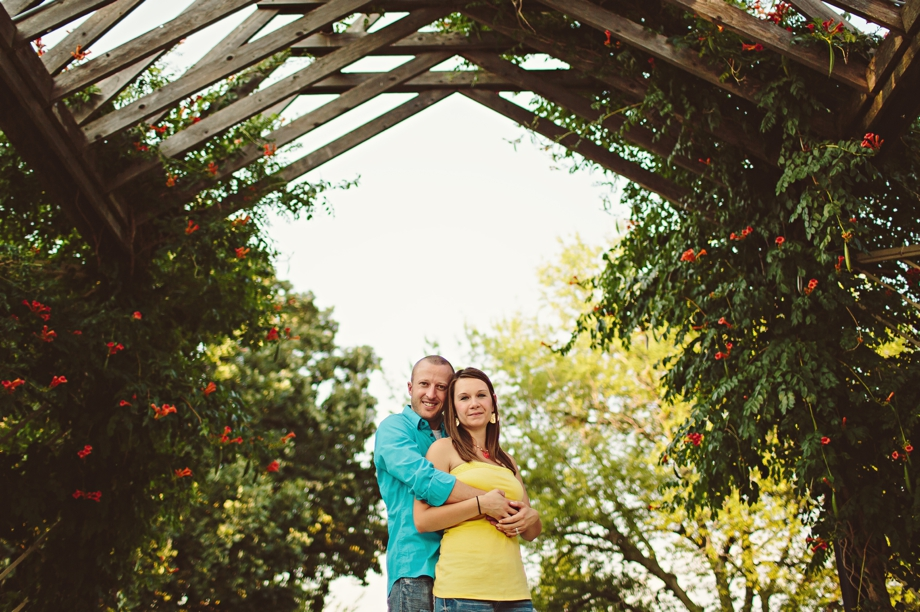 Ensley Gardens Engagement Photography