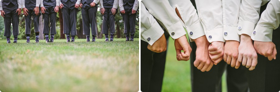 Groomsmen at Mt Vernon Gardens - Wedding Photography Omaha Henry Doorly Zoo - Melissa and Todd