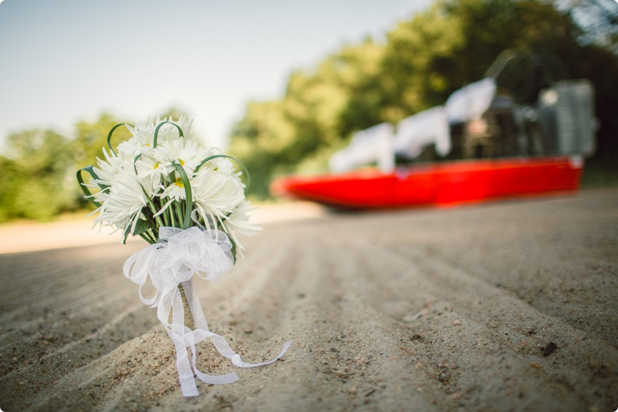 bouquet by ain airboat- Jamie and Brad