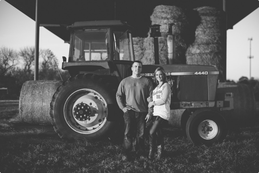 Omaha Engagement Photography - Amy & Kevin 16 - john Deere