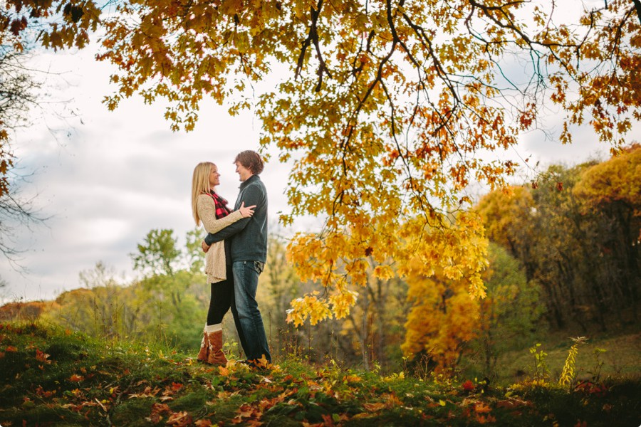Fontenelle Forest Omaha Engagement Photography - Brittany & Justin 01