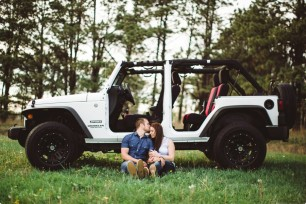 Jeep inspire Engagement Photography