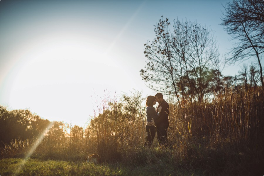 Omaha Engagement Photography - Amy & Jeff 14