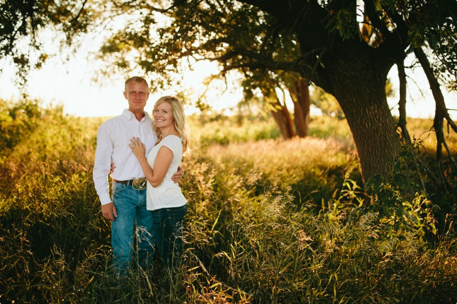 Nebraska Engagement Photogrphy - C&J 06