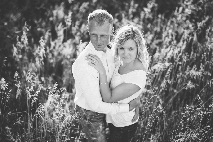 Nebraska Engagement Photogrphy - C&J 09