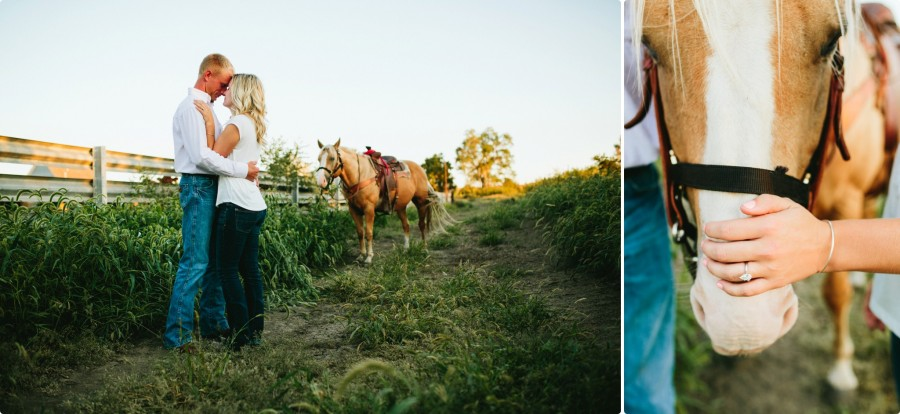 Nebraska Engagement Photogrphy - C&J 12