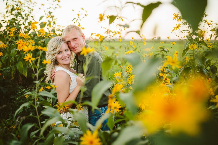Nebraska Engagement Photogrphy - C&J 18