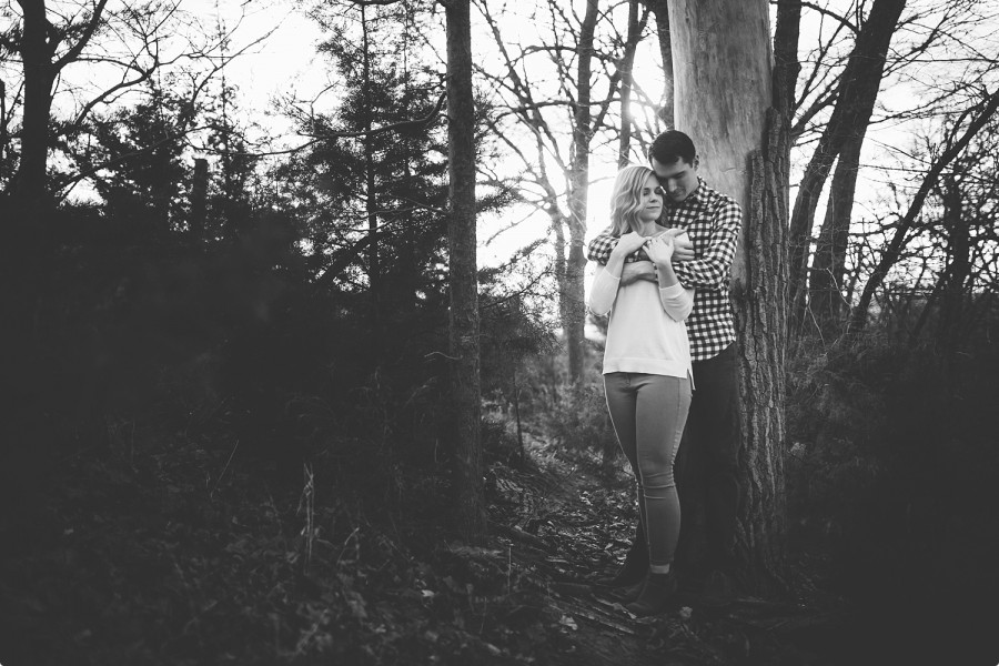 Omaha Engagement Photographer - Allison Josiah 11