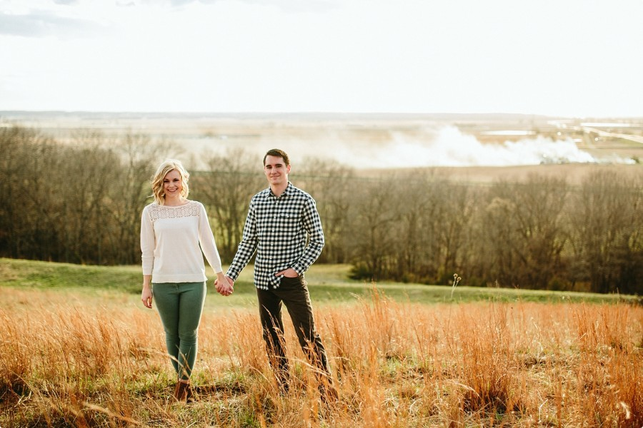 Omaha Engagement Photographer - Allison Josiah 16