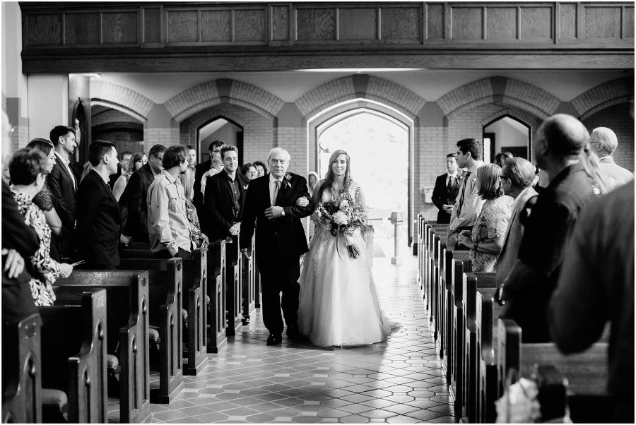 Lady of Lourdes Wedding Omaha