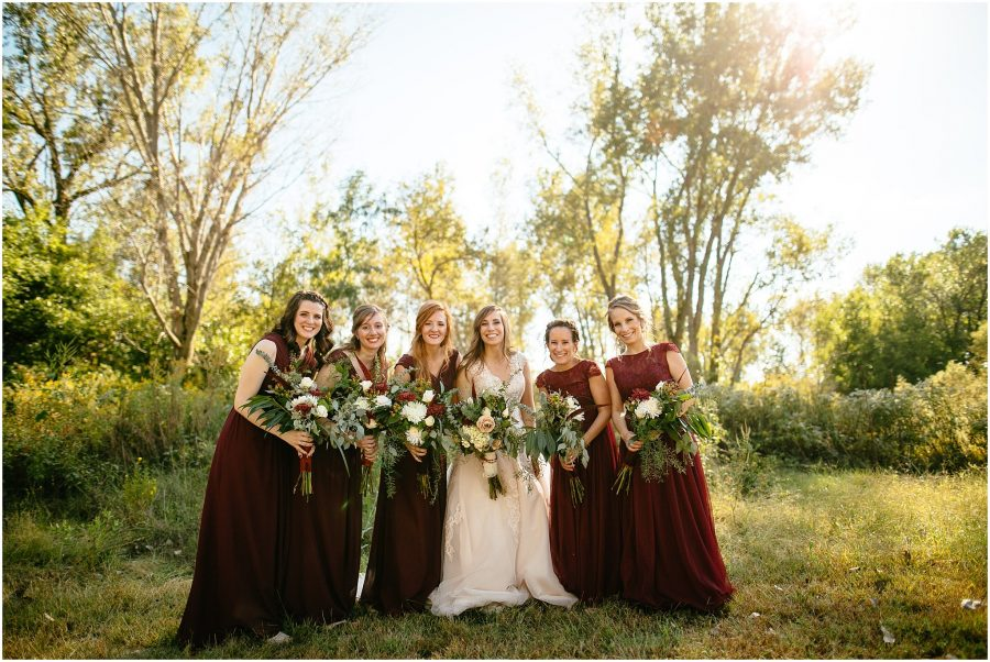 Bridesmaids in Omaha Weddings