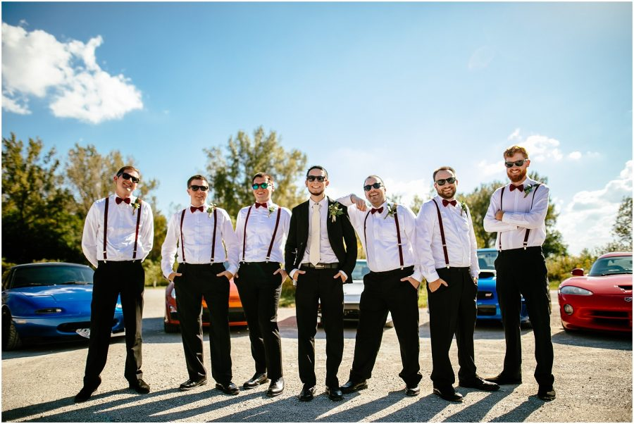 Groomsmen in Omaha Weddings