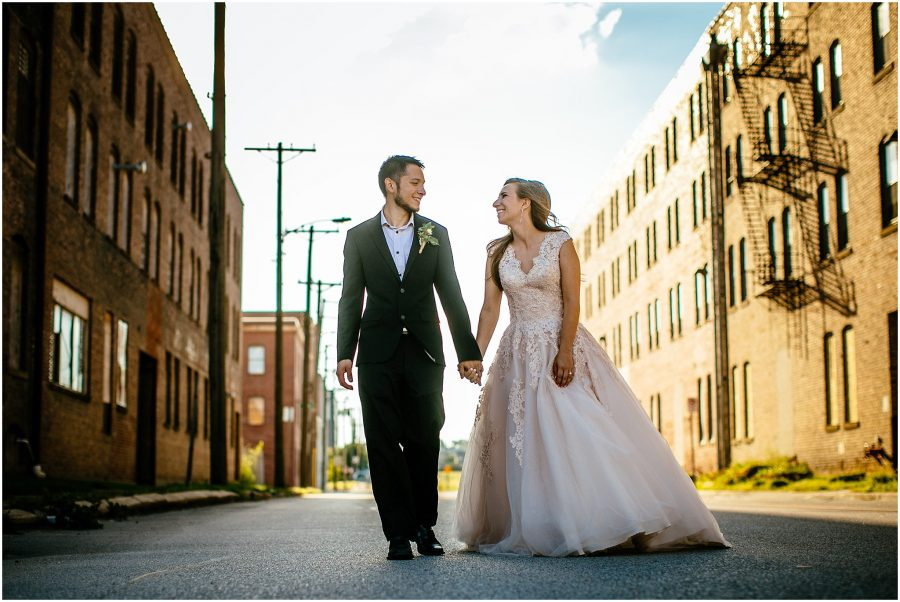 Old Market Omaha Wedding Photography