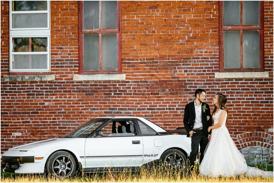 Toyota MR2 Wedding